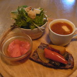クッチーナ ベジターレ マルヨシ - Aランチ(1550円)の前菜