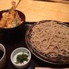 山王 ひらそば - 料理写真:ミニ天丼 もりセット 1,000円