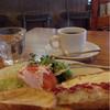 フェルメール - 料理写真:オープントーストのモーニングセット \630