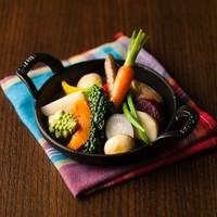 旬にこだわった新鮮な野菜をご堪能ください
