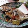 松魚亭 - 料理写真:大きな鯛の塩焼き