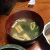 山村 - 料理写真:朝食 味噌汁