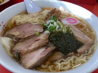わだラーメン - チャーシューワンタンメン\950+大盛\100(税込)