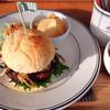 ビーバー - 料理写真:ランチのハンバーガー