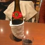 美叙飯店 - 紹興酒を瓶で燗