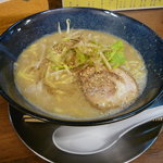 麺房 十兵衛 - 濃厚味噌750円 中太麺