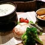 フラワー&ドラゴン - チーズフォンデュ