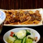 ゑがほ食堂 - 鳥もつ定食