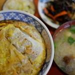 ゑがほ食堂 - カツ丼
