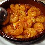 壺屋 - エビのガーリックオイル煮