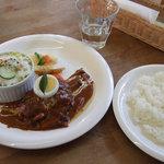 ボヌール - 熊野牛のハンバーグランチ