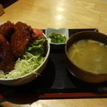 お食事酒処和 - ソースかつ丼¥1000☆