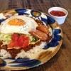 ビーチカフェ anjina - 料理写真:タコライスプレート