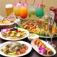 充実の各種パーティープラン