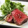 グリージョ ラ ターヴォラ - 料理写真:馬フィレ肉の炭火焼き