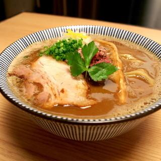 ラム+豚骨スープ