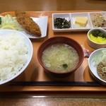 横須賀パーキングエリア(下り線) - 納豆定食