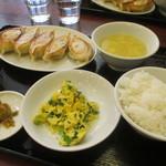 33507458 - 焼き餃子定食