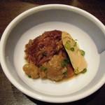 北薩摩 - スジ肉の肉豆腐