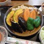 祥園 - 野菜カレーのセット