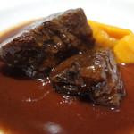 33545829 - 牛ほほ肉の赤ワイン煮