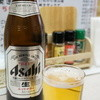元祖いか柳 - ドリンク写真:まずは中ビン350円、安いでしょ♪