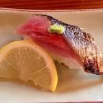 居食家 しみず - 炙り秋刀魚寿司