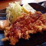 居食家 しみず - 白身魚のフライ