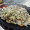 自由軒 - 料理写真:熱々てっぱん焼き飯