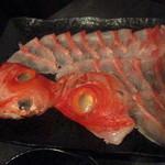 二代豊国 - 金目鯛のしゃぶしゃぶ