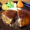 レストランASA - 料理写真:とろけるチーズのせ 和牛入りハンバーグ