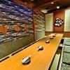 土風炉 - 内観写真:壁にも綺麗な絵が入った個室☆