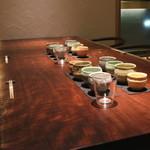 月よみ庵 - テーブル席 (2014/12)