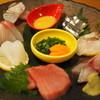 恵水産 - 料理写真:1625円『刺し身7点盛り』2014年12月吉日