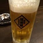 筑前屋 - 生ビール