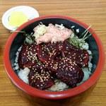 鯨食堂 - 料理写真:【2014/12】鯨漬け丼