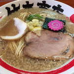 竹本商店 - 2014/12/19背脂煮干しそば並盛り790円