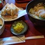 戸隠 - 京地鶏定食