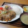 むさしや食堂 - 料理写真:ハイ、来たぁ~「カツカレー定食 \920」