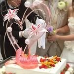 あえの風 - 料理写真:ウエディングケーキの飴細工は辻口さんの作品です