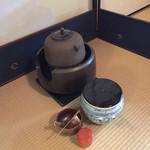 聖宙庵 - お茶の道具