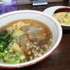 恵楽 - 料理写真:ラーメンセット770円(ランチタイムは690円です)