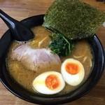 せい家 - 味玉ラーメン201411