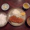 大吉 - 料理写真:とんかつ定食700円