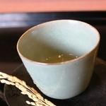 祇園もりわき - 玄米スープでまずあたたまります