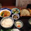 手打ちそば うどん 富 - 料理写真:旬菜セット(もりそば付き)950円(税込)