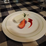 バーバーバー - コース・ディナーのデザート