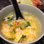 しょうじき亭 - たまごスープ