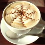 ジンジャーズビーチ - 豆乳チョコラテ(ホット)