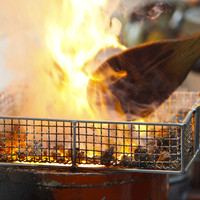 宮崎地鶏の炭火焼